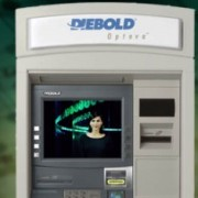 Dielbod is demo'ing its ATM innovations alongside Verizon at CES