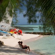 Life is a beach in the Cayman Islands