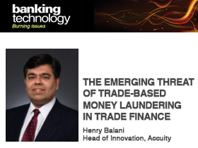 The emerging threat of trade-based money laundering in trade finance