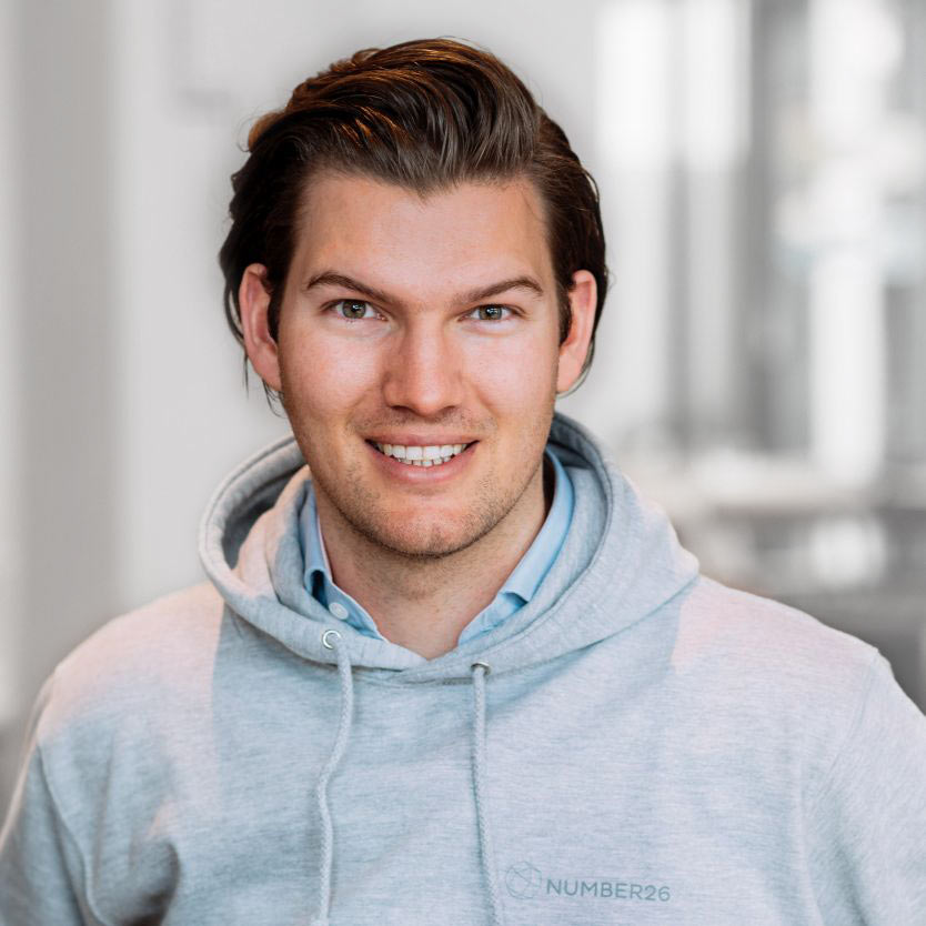 Number26 co-­founder and CEO Valentin Stalf