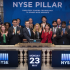 NYSE rings the bell to celebrate the launch of new trading platform Pillar
