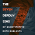 Quandl 7 sins of data analysts 1