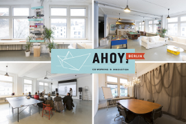 Ahoy Berlin, new HQ of Penta Bank
