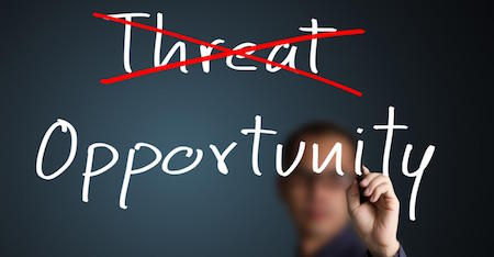 Image result for opportunity or threat