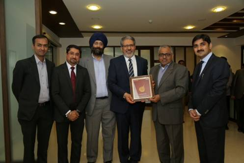 Intellect and Capital Small Finance Bank exchange copies of the signed memorandum of understanding