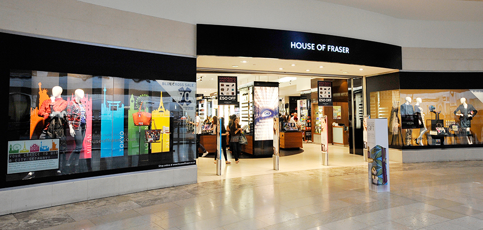 Uk retailer house of fraser to invest up to 35m in for Housse of fraser