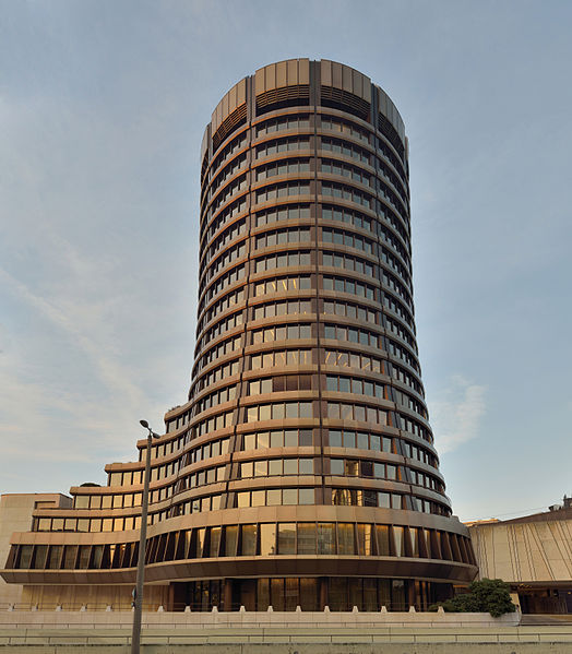 Bank for International Settlements HQ, Basel. Image source: Taxiarchos228, Wikimedia Commons