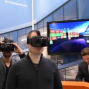 Swissquote VR headset: glance and trade