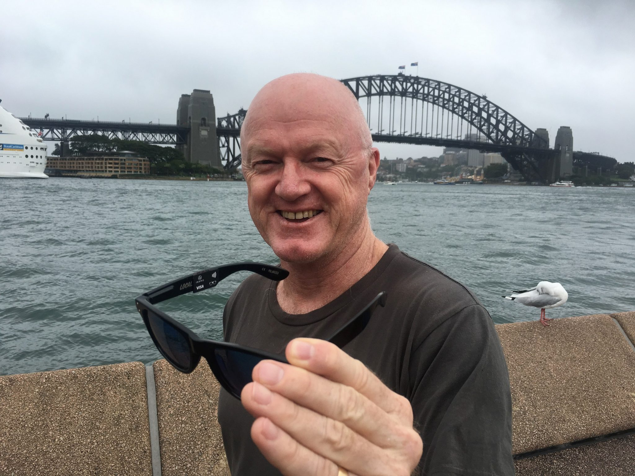 Inamo founder Peter Colbert with WaveShades