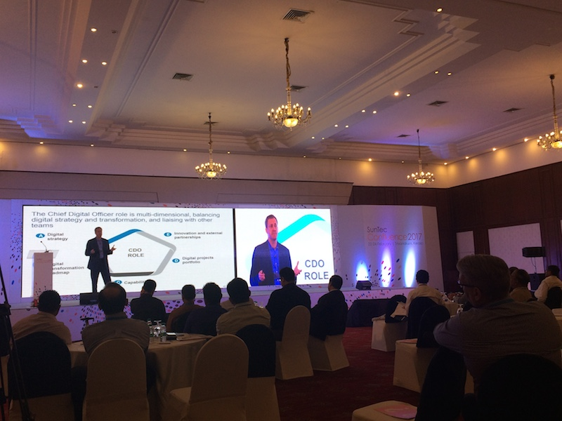 Celent's Dan Latimore at SunTec Confluence: chief digital officer is a persuader