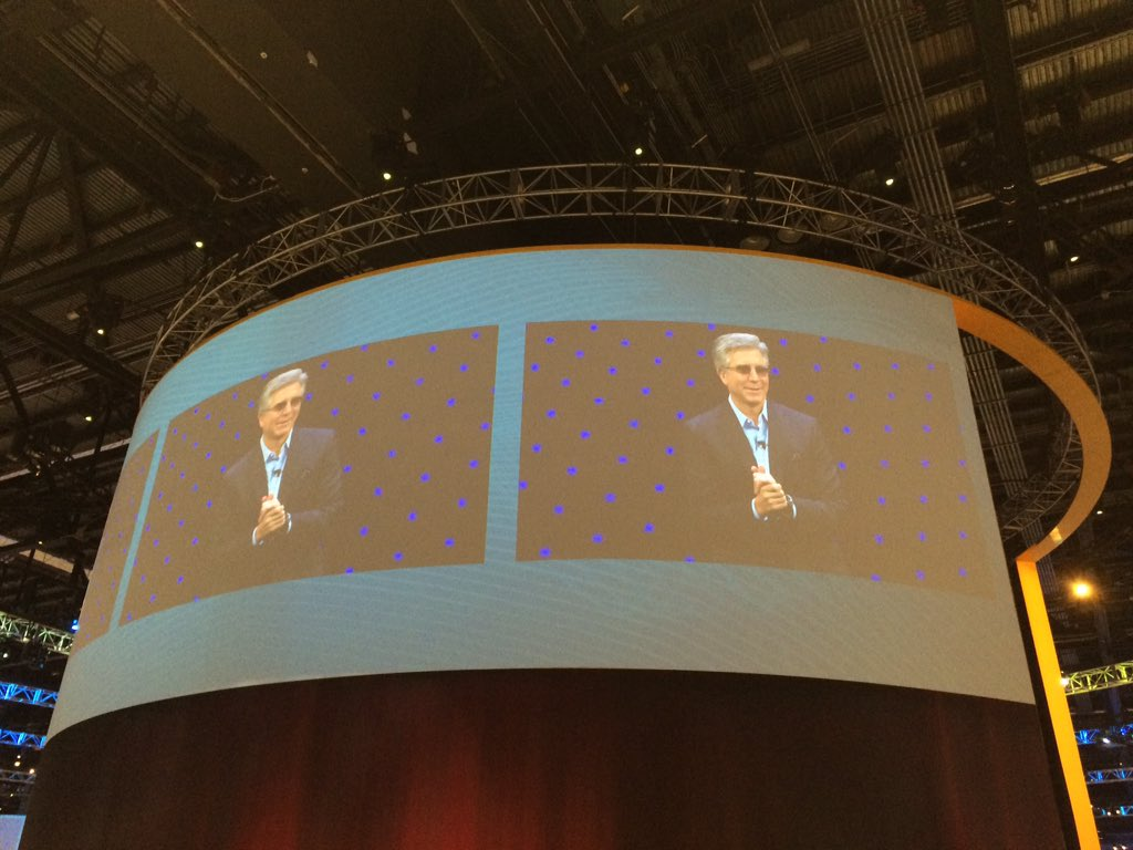 Bill McDermott, CEO of SAP at its annual Sapphire conference in Florida