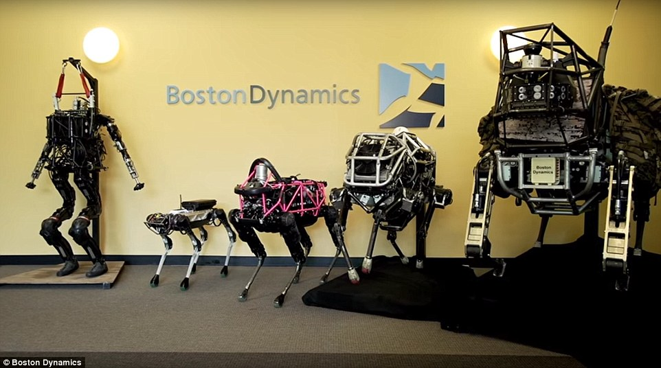 Softbank buys robot-maker Boston Dynamics from Alphabet