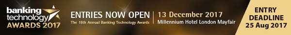 Banking Technology Awards 2017 banner