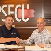 PSECU's Greg Smith and Corelation's John Landis