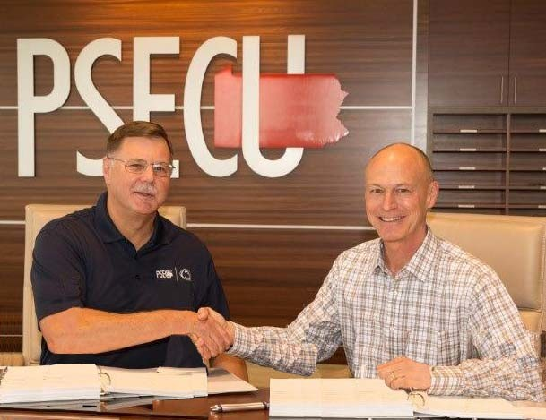 PSECU's Greg Smith & Corelation's John Landis