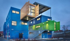 Shipping containers... reimagined. Image source: Pinterest