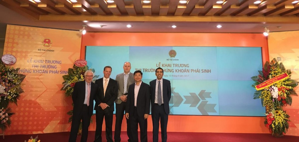 The team behind Vietnam's first derivatives market and clearing house