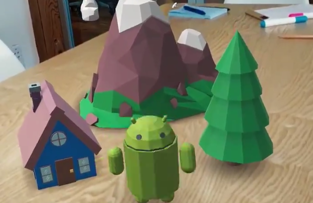 Google's new dev kit is bringing augmented reality to Android