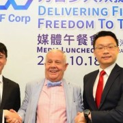 Jim Rogers at the ITF launch