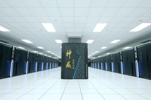 China's Sunway TaihuLight supercomputer remains No. 1 (Source: Top 500 Supercomputer List)