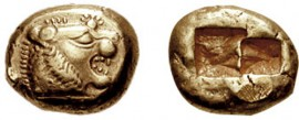 A Lydian coin, 640BC. Will cash go the same way as the dinosaurs?