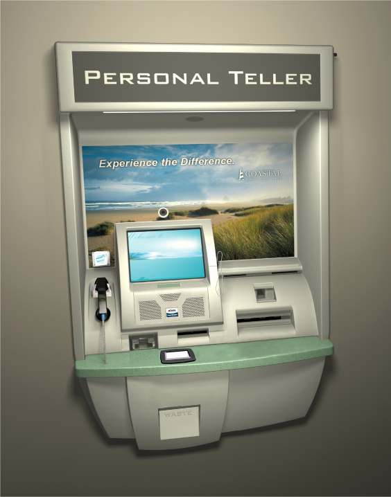 Video banking services, such as this Bank of America machine, will become ubiquitous says Celent