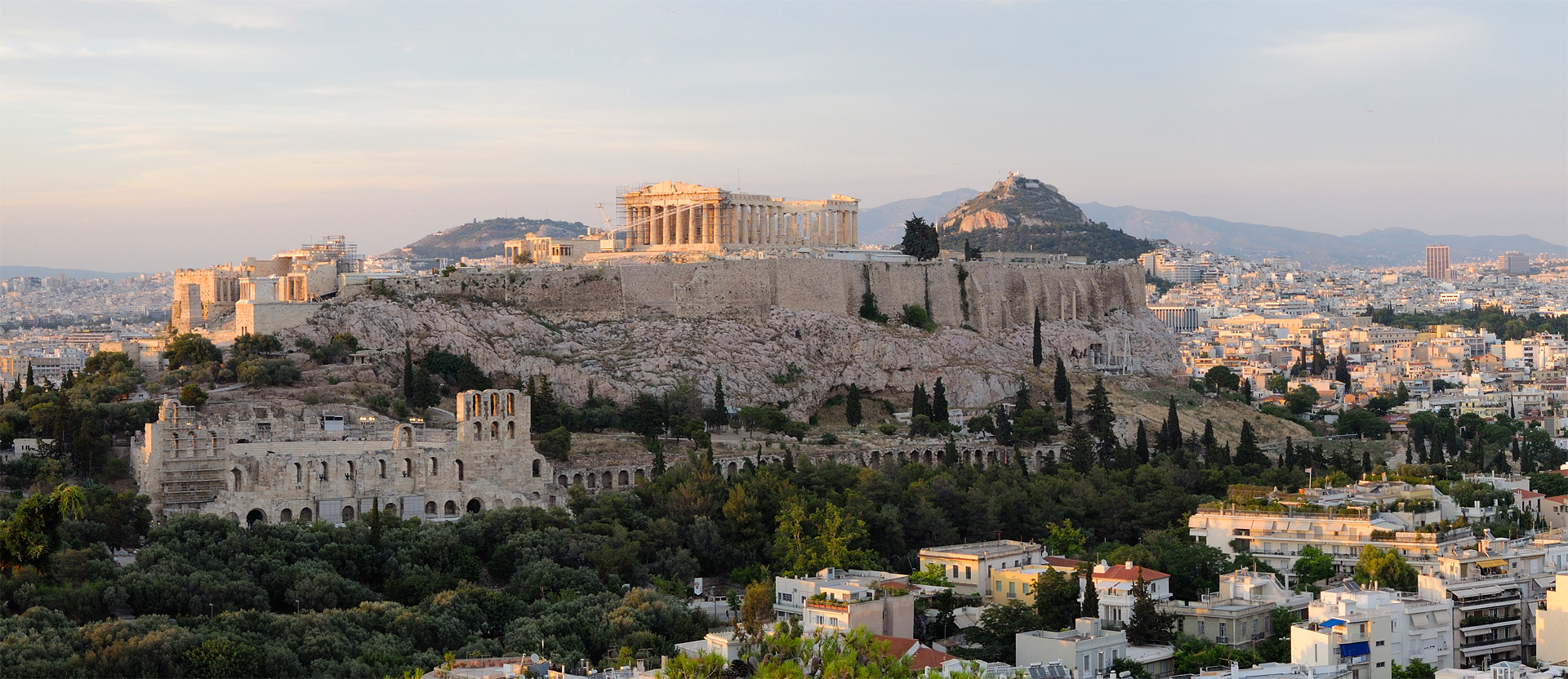 The Acropolis in Athens, Greece. » Banking Technology
