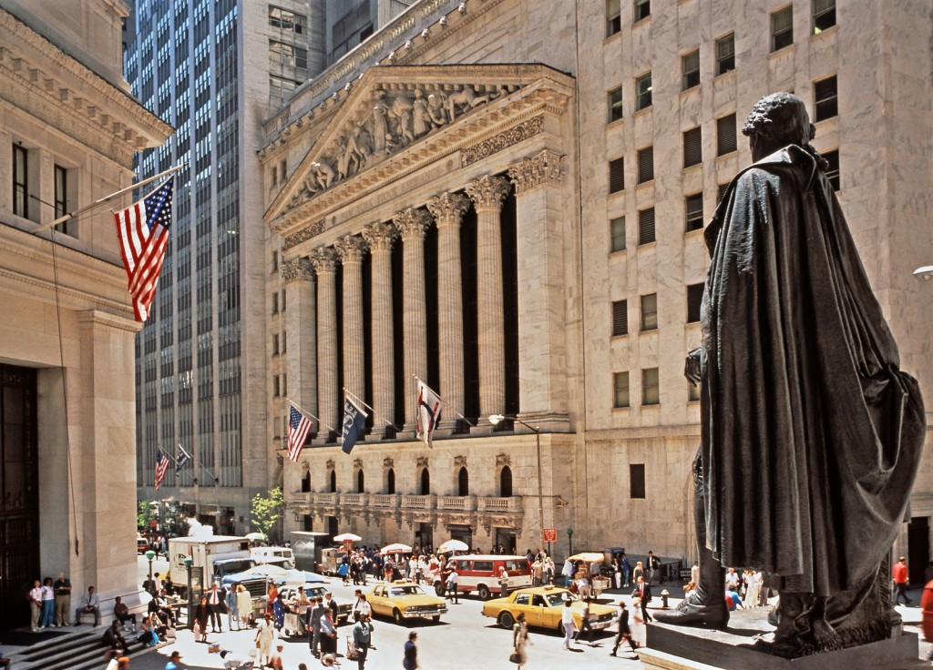 Politically motivated cyber threats are increasingly being directed towards Wall Street (pictured)