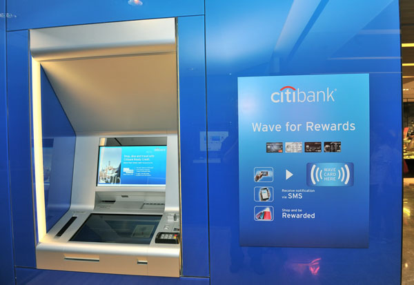 citibanks new atms are designed to provide nearly all the services of a traditional branch