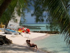 Life's a beach in the Cayman Islands