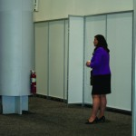 The decision by FireCo Fire Extinguishers to exhibit at Sibos was a bold one – perhaps the minimalist stand, however, was a mistake
