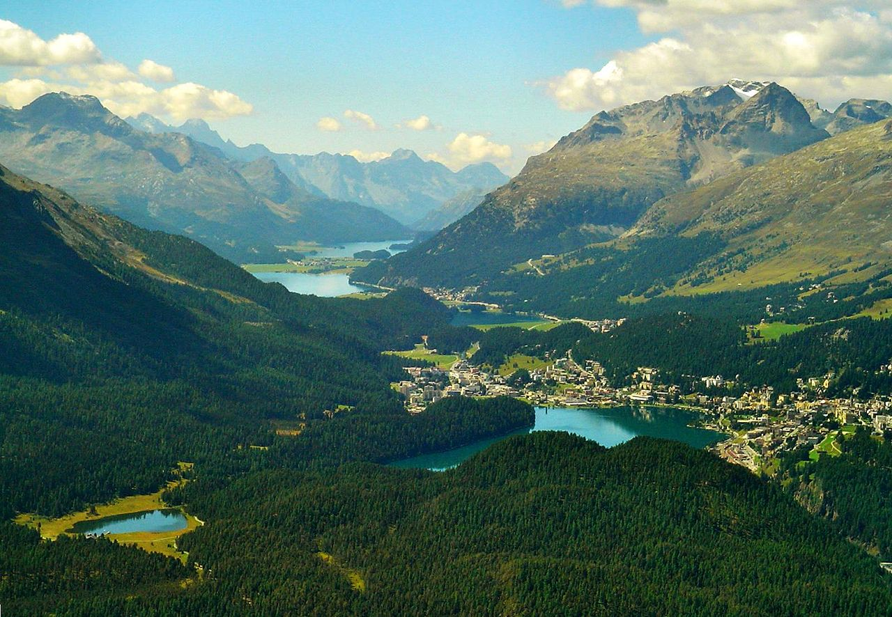 Engadin Valley, Switzerland