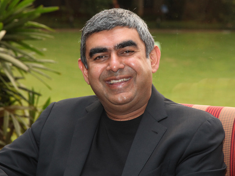 Dr. Vishal Sikka, CEO of Infosys