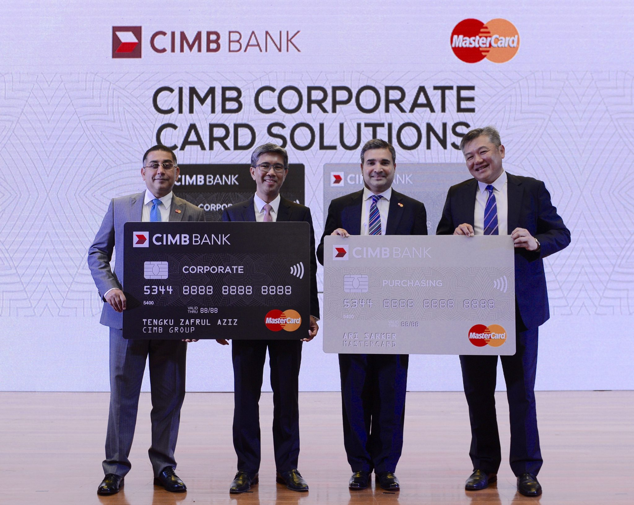 CIMB Bank and MasterCard launch corporate cards in Malaysia ...