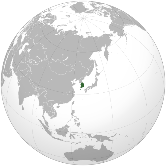 South Korea © Wikipedia