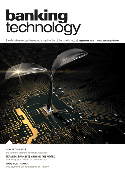 Banking Technology September 2016 issue