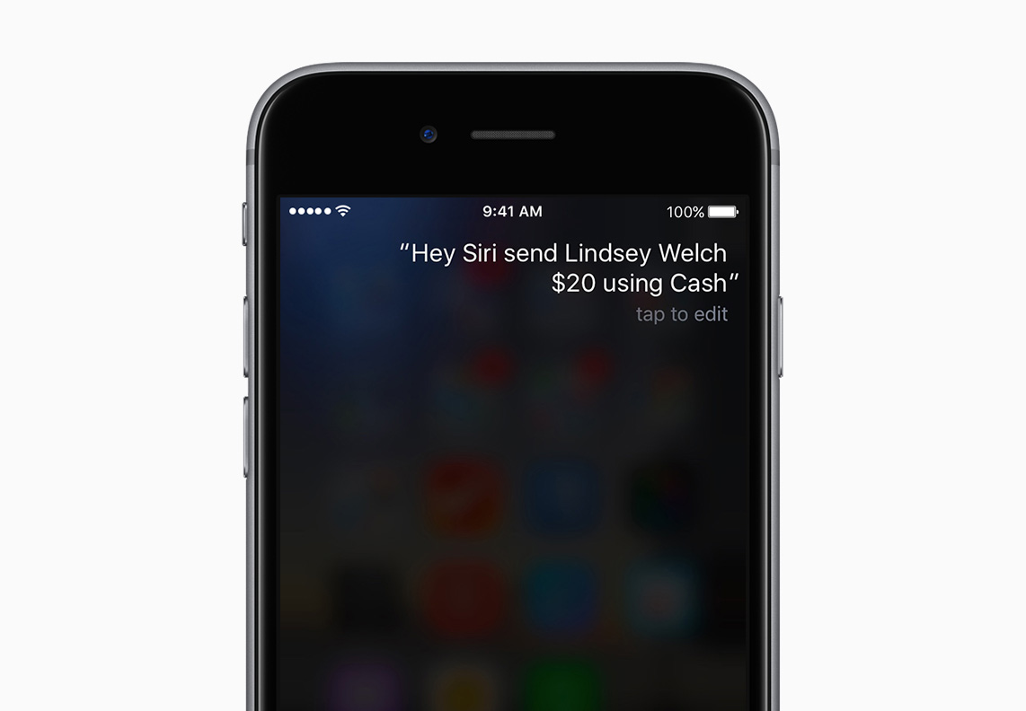 Siri gets serious about payments