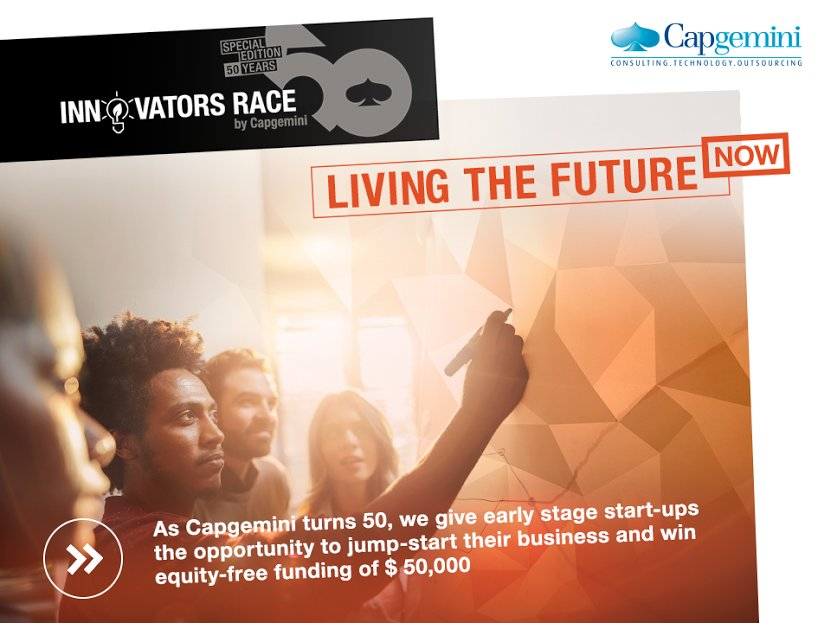 InnovatorsRace50 is on