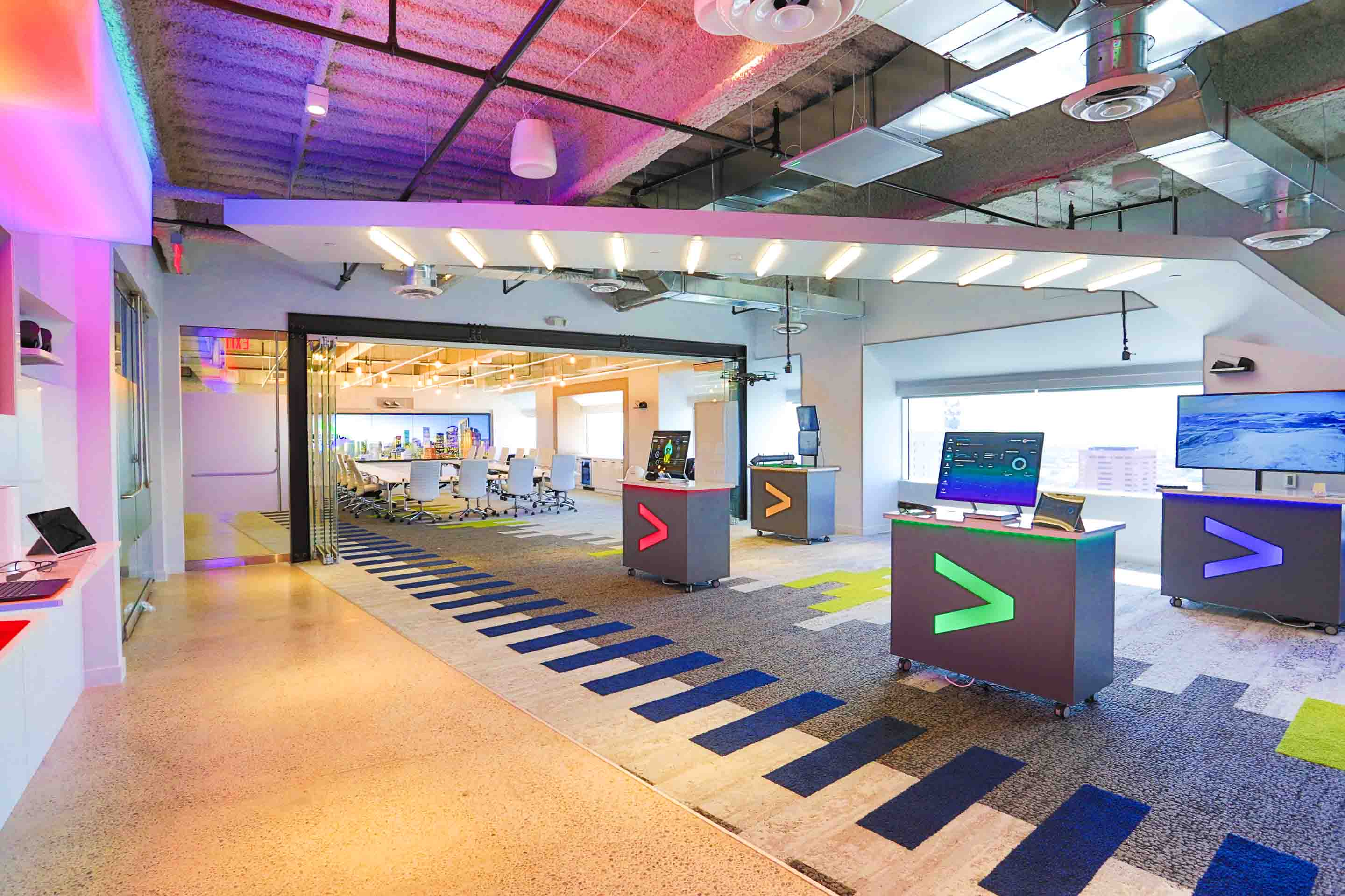 Accenture hub in Houston