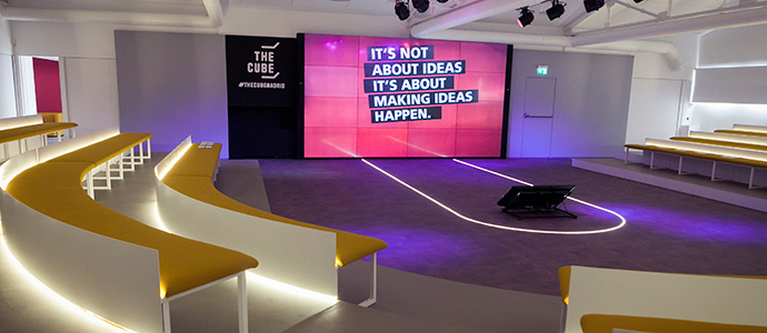 Mioti is headquartered at The Cube in Madrid