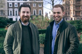 Credit Kudos founders Matt Schofield (left) and Freddy Kelly (right)