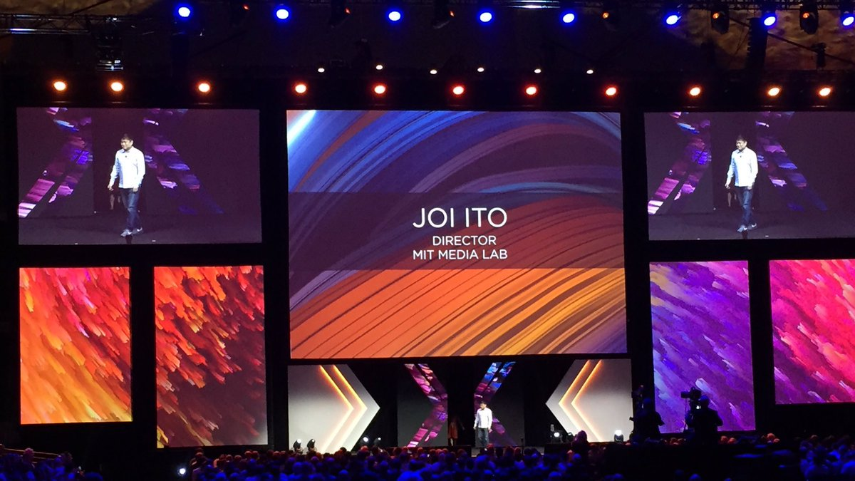 Joi Ito from MIT Media Lab gets sceptical