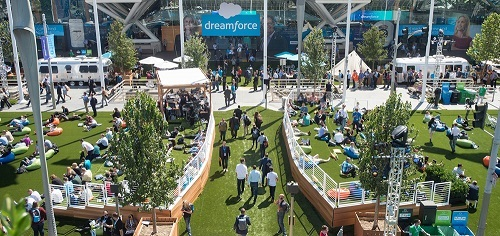 Dreamforce conference in San Francisco (Image source: Salesforce)
