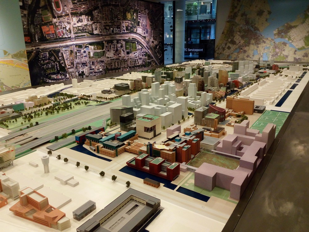 Model of Zuidas, Amsterdam