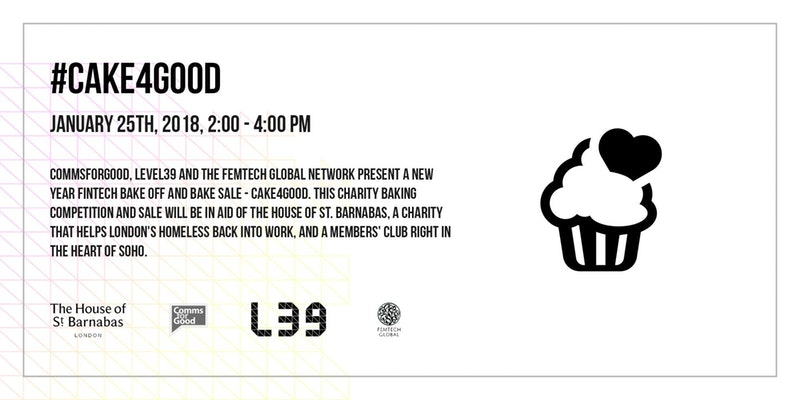 Cake4Good fintech charity bake off! – FinTech Futures