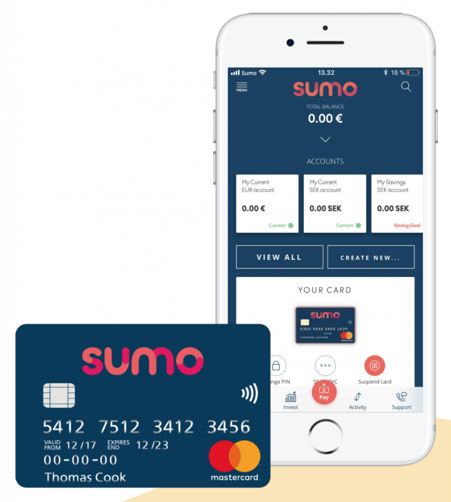 the first ever mobile banking app designed for holidays