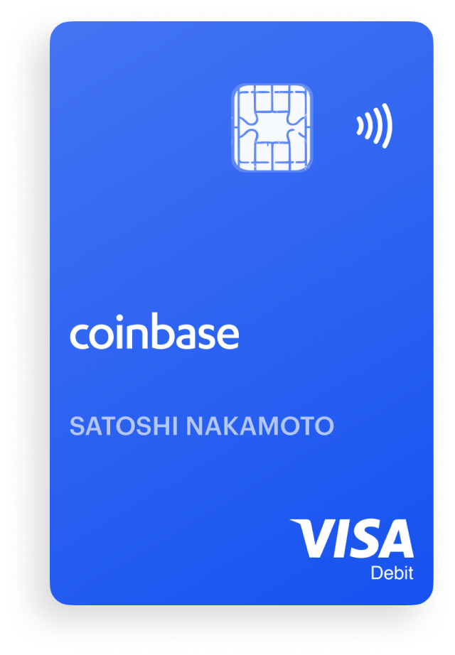 Coinbase launches crypto Visa debit card in the UK