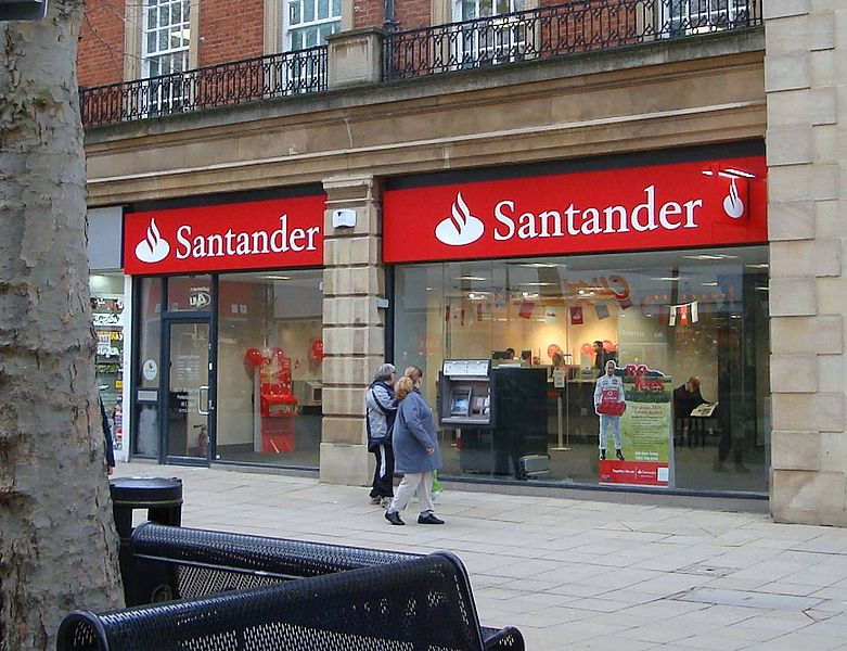 Santander, Halifax and Nationwide are winning the most new customers, according to TNS